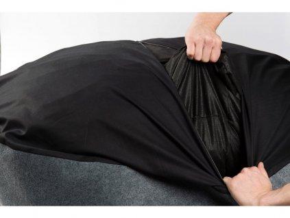 Luxusní pelech pro psy BED BUD - tmavě šedá