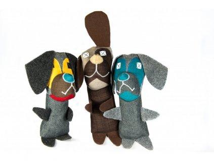 Hračka pro psy - aktivní ohař Adu