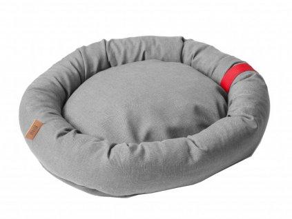 Pelíšek pro psy BED BUDDY - světle šedá