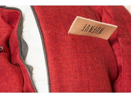 Pelíšek BED BENJI pro kočky a psy - červená
