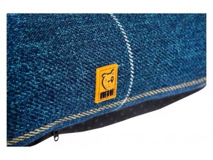 Pelech pro psy BED BOBBIE - modrá kostka