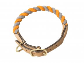 Collar Lassie grey orange