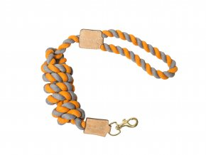 Leash Lassie grey orange