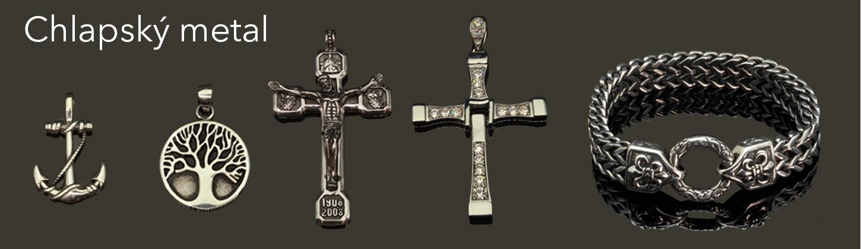 Pánské šperky z chirurgické oceli | NUGATU