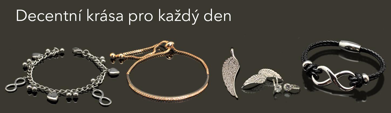 Decentní šperky z chirurgické oceli | NUGATU