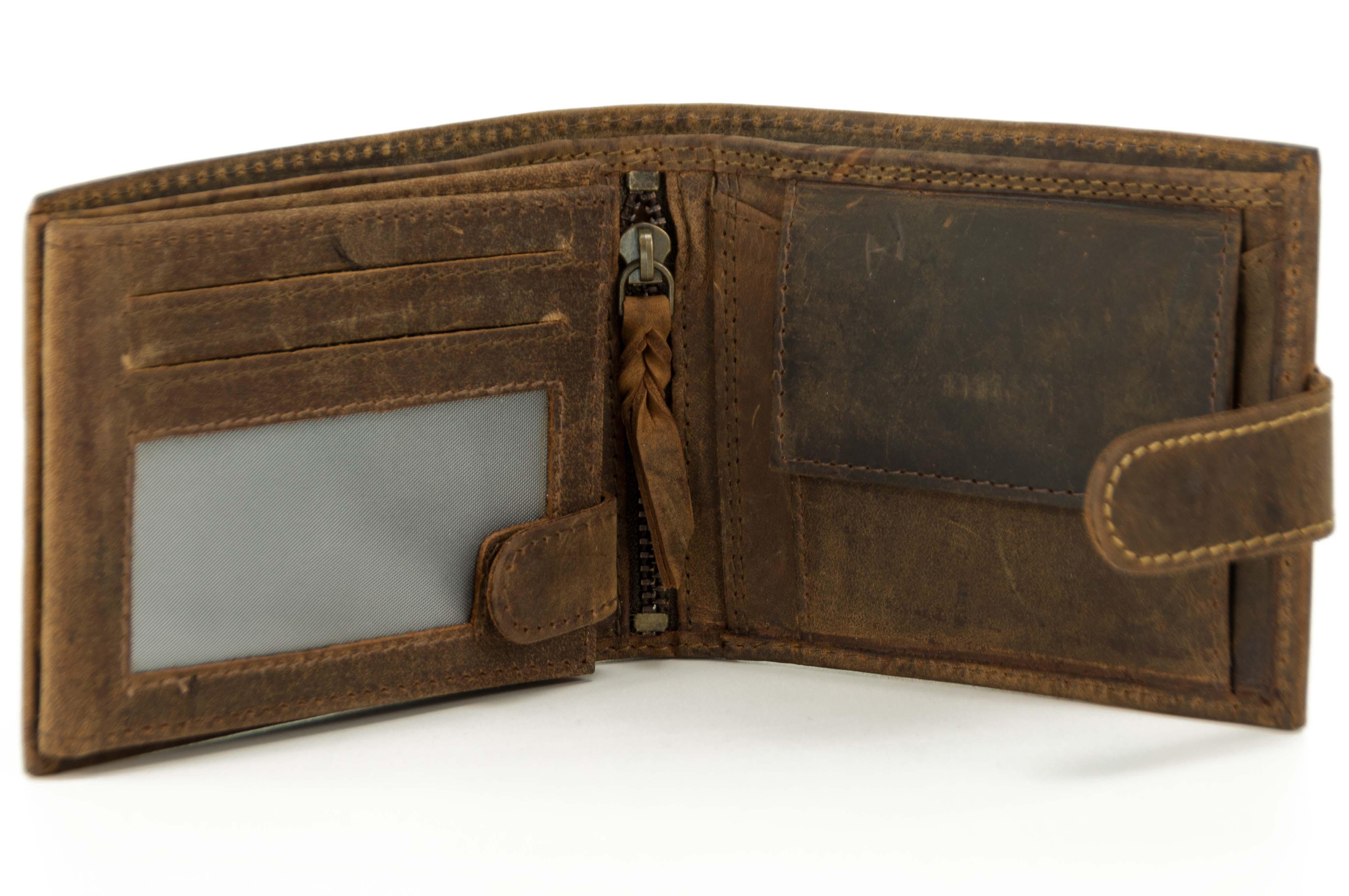 Pánské peněženky - Na ležato