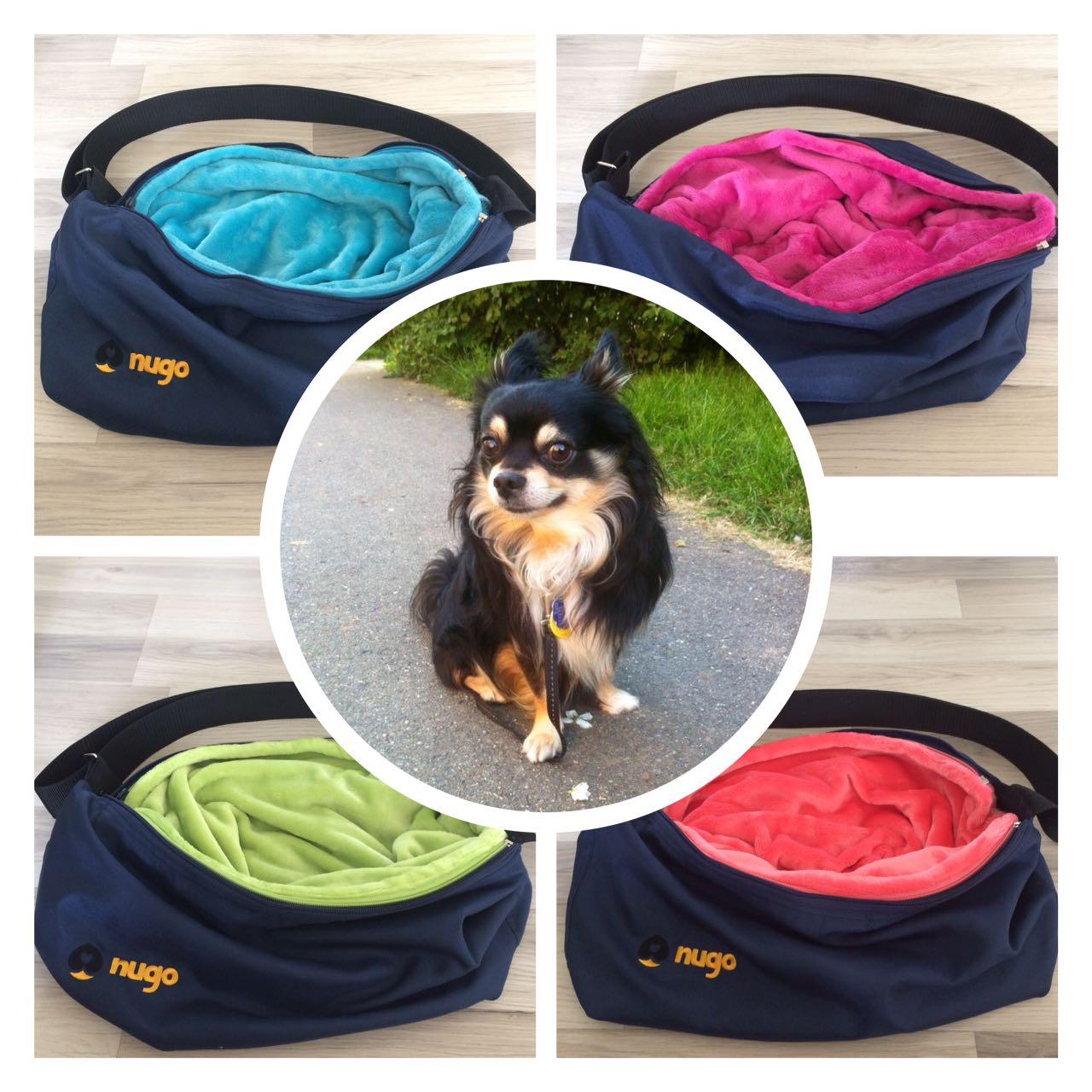 Kombinujte barevné vložky Nugo tašky