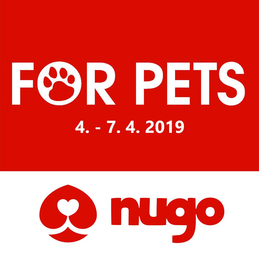 NUGO bude na FOR PETS 2019