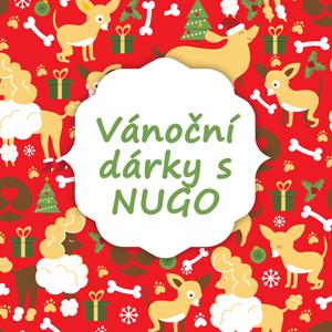 Vánoční dárky s NUGO: Limitované edice, krásné designy a hlavně velká radost pro vaše pejsky!