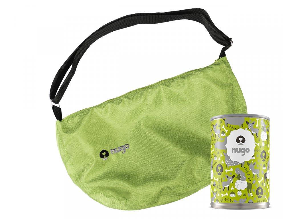 1 nugo taska outdorova zelena tubus
