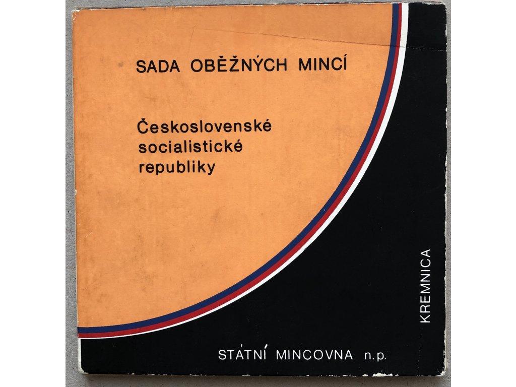 Sada mincí ČSSR 1986