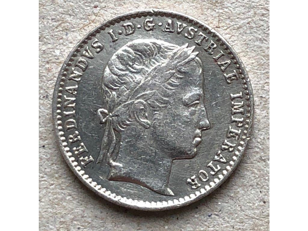 AR korunovační žeton Ferdinand V. Praha 1836