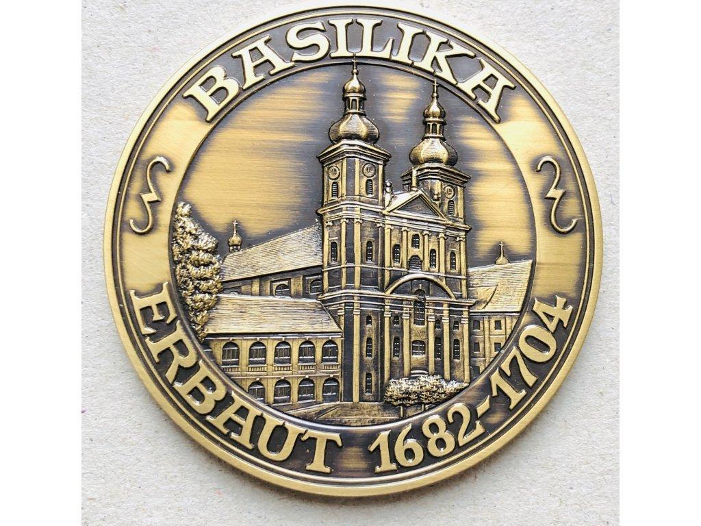 AE medaile Basilika Waldsassen