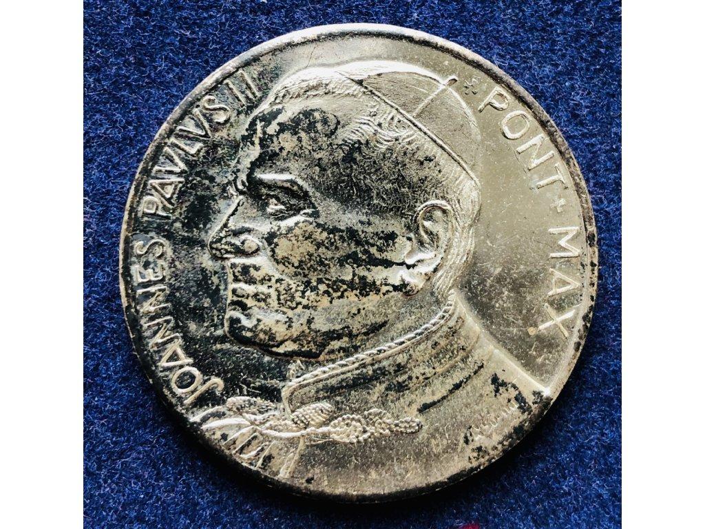 Medaile Papež Jan Pavel II.