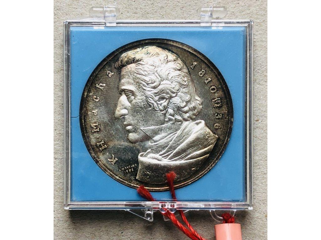 AE medaile K. H. Mácha 1982