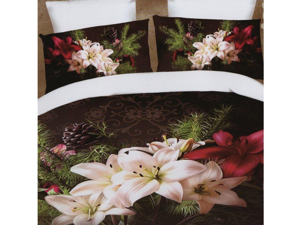 3D povlečení Barevné lilie