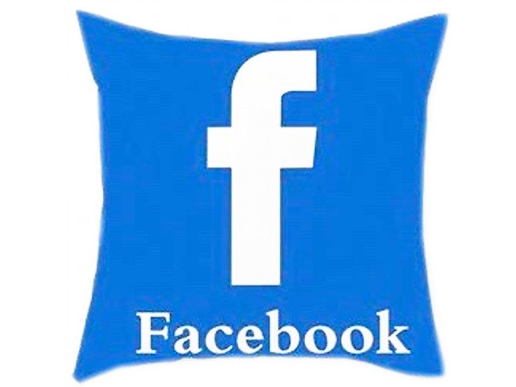 Povlak na polštáře na facebook