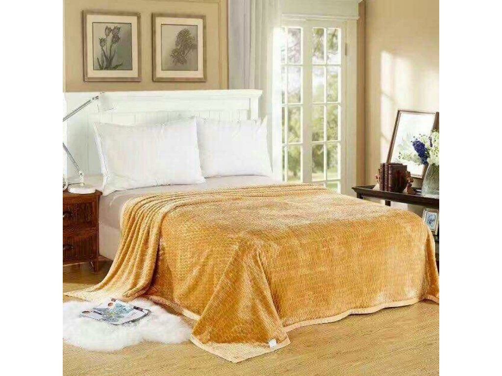 Luxusní krémová deka Life-150 x 200 cm