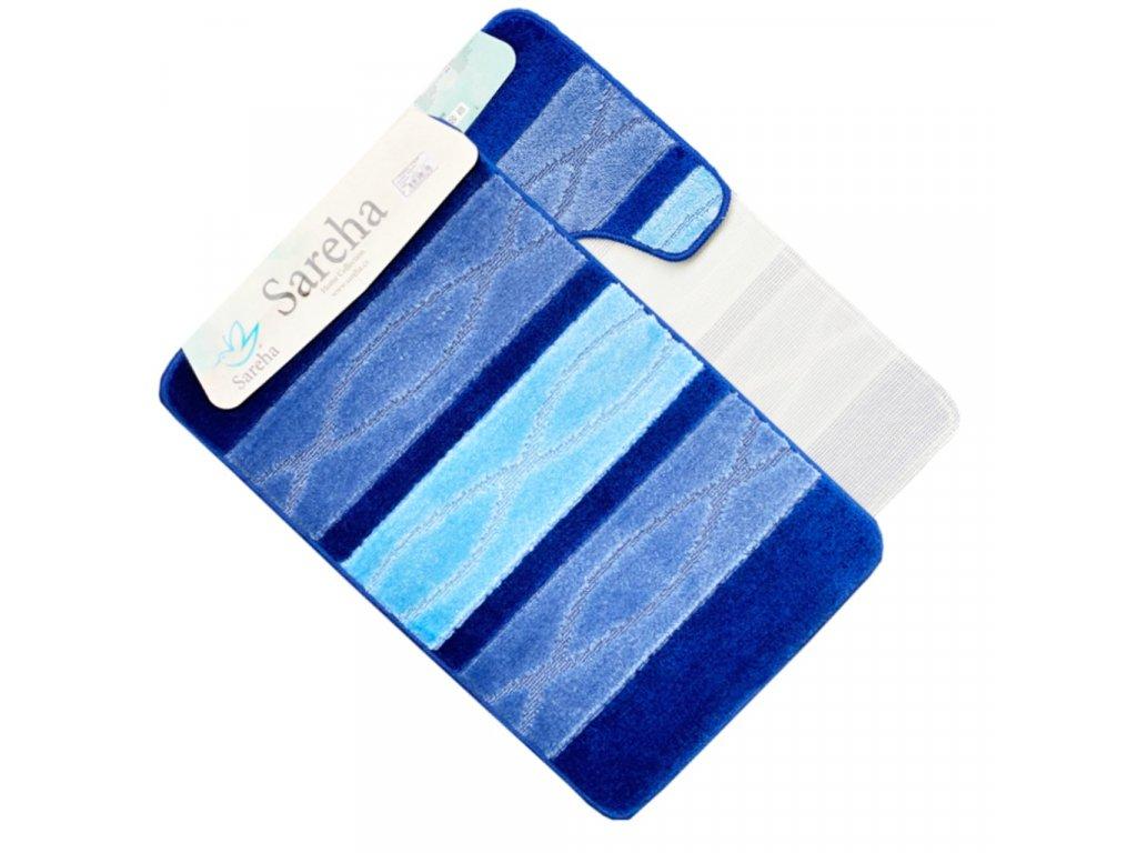 Koupelnová předložka světlá modrá Sereha - 2ks