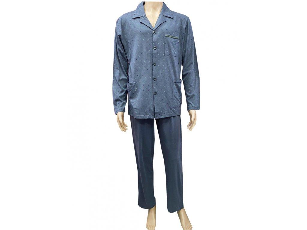 Pánský pyžamový kabátek c-lemon