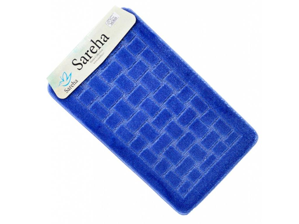 Koupelnová předložka Modrý barva Sereha - 1ks
