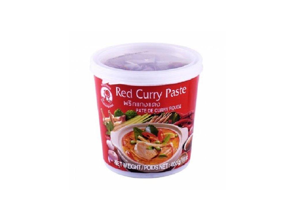 červená kari pasta