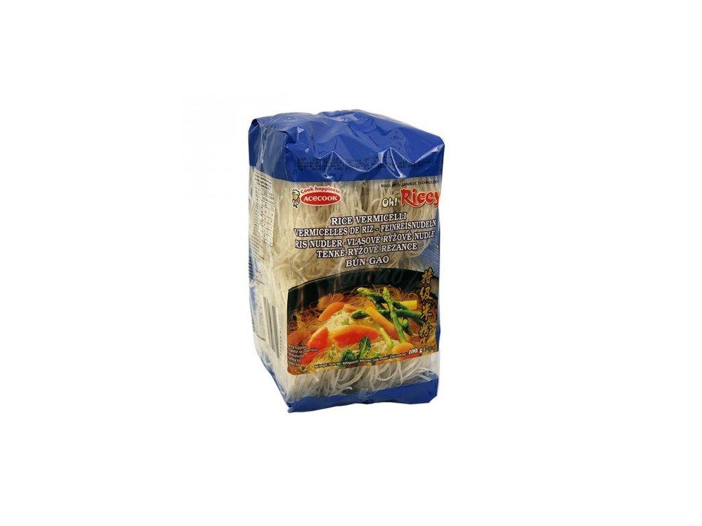 OH RICEY Tenké rýžové nudle 500g