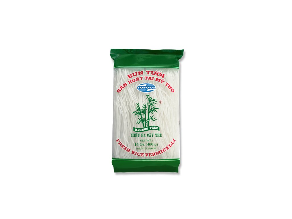 BAMBOO TREE Rýžové nudle 400g
