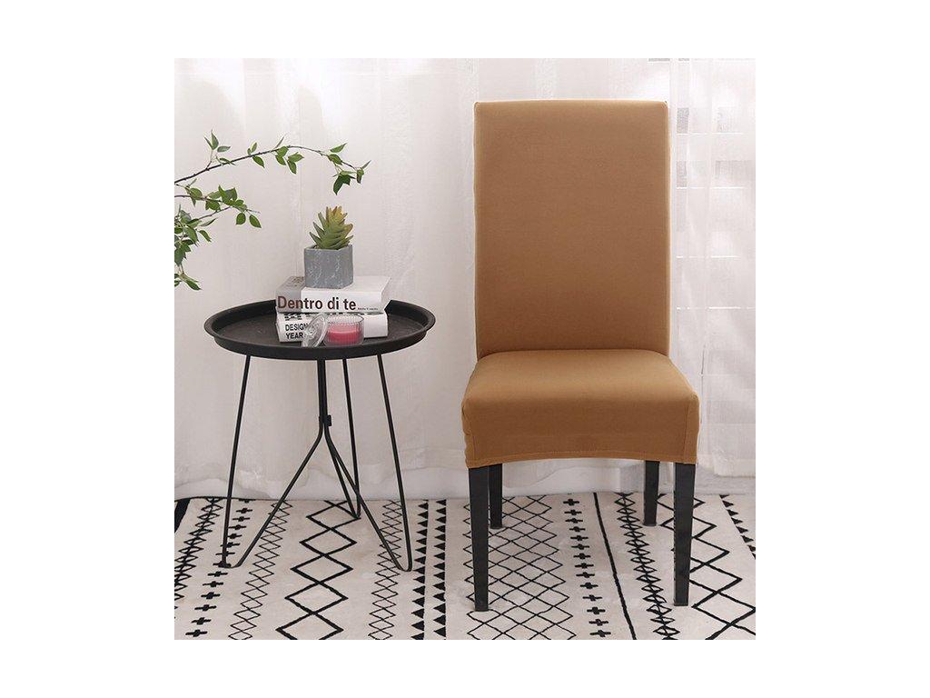 Univerzální potah na židli - béžový