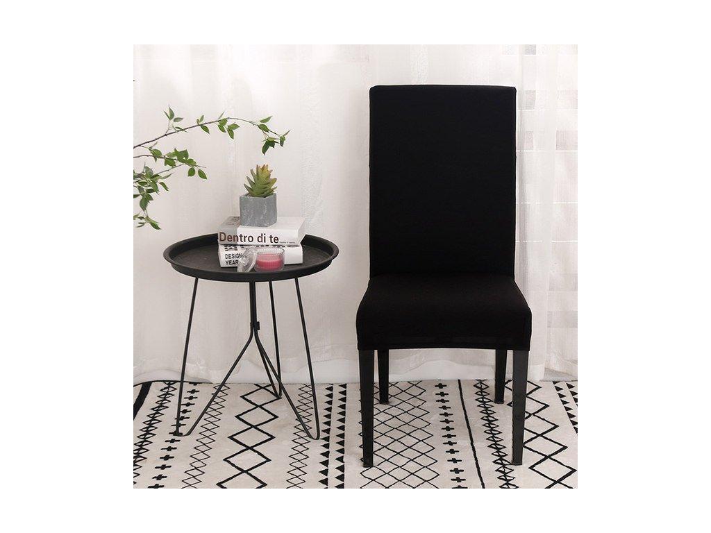 Univerzální potah na židli - černý
