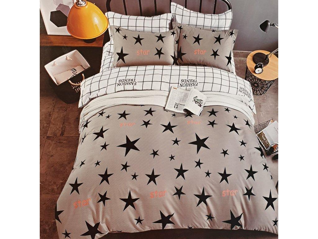 Francouzské povlečení STARS DUO 4