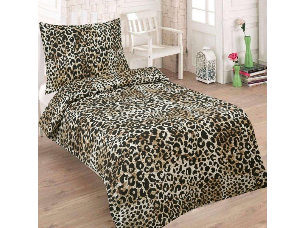 bavlnene povleceni 140x200 70x90 cm tygrovina