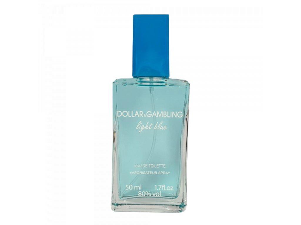 Parfemovaná voda DOLLAR&GAMBLING light blue 50 ml