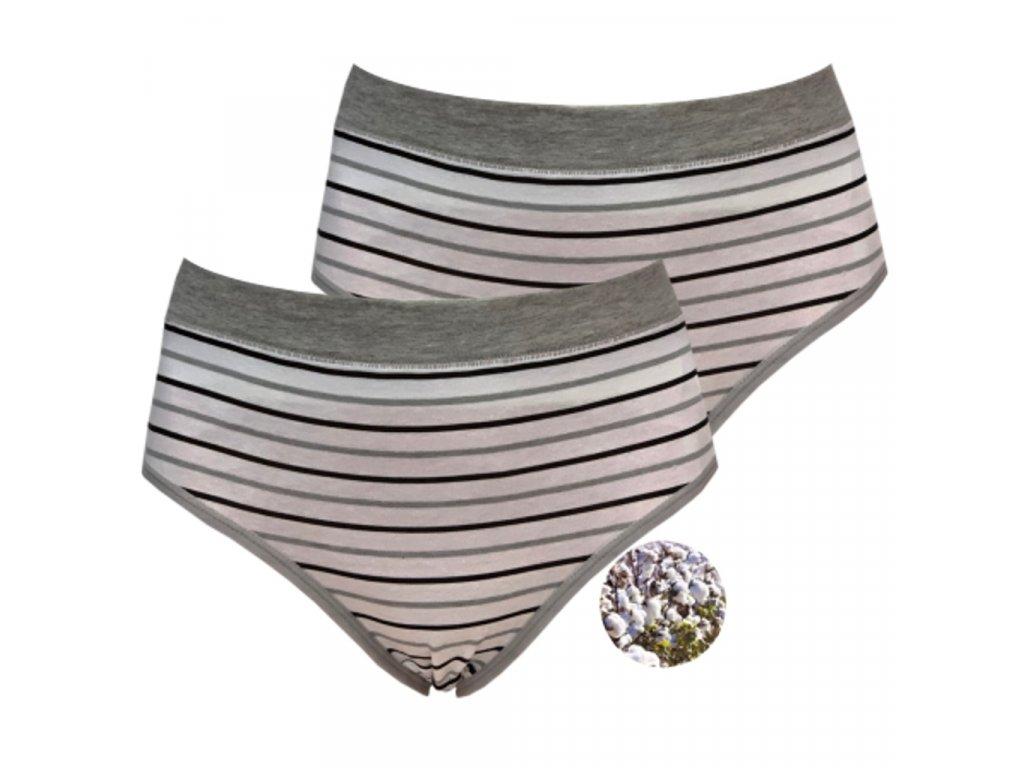 Tinasan M - 8106 Dámské kalhotky, 2 kusy