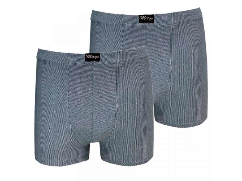 Pánské bavlněné boxerky velký Mego