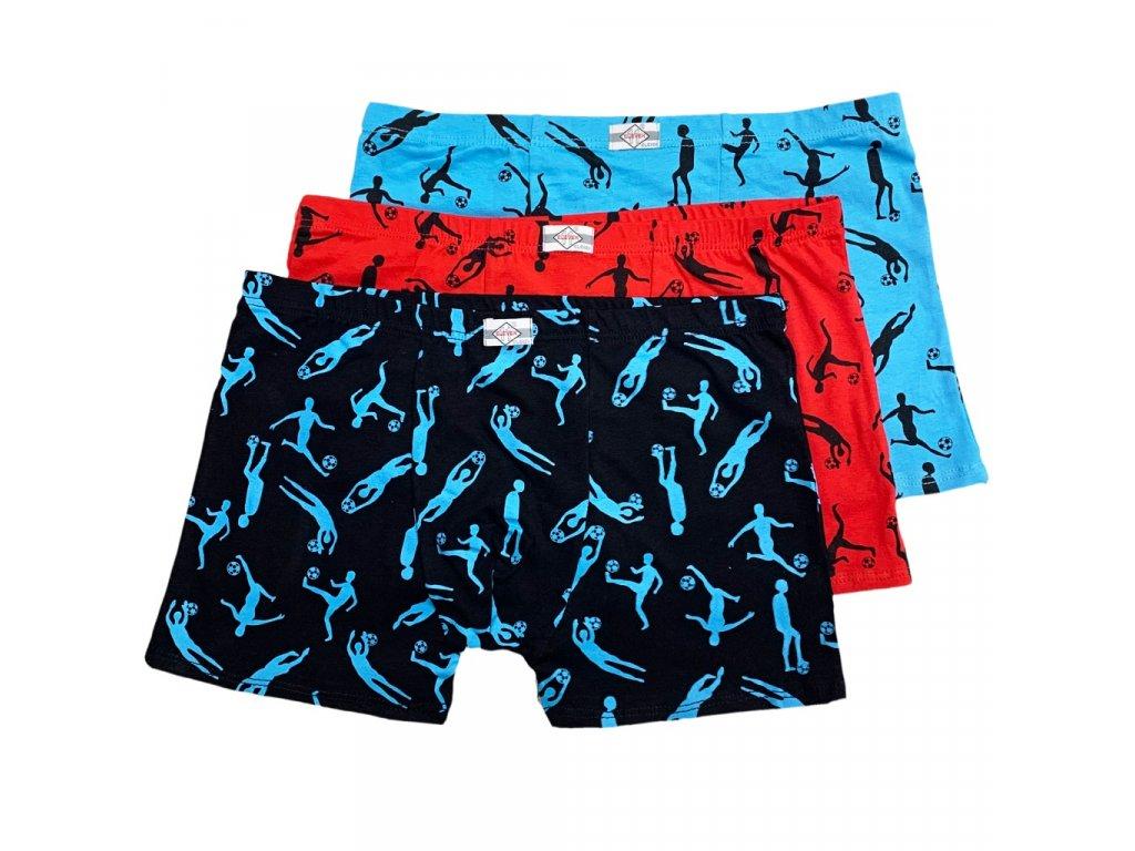 3 ks v balení chlapecké spodní prádlo Boxerky No:4046