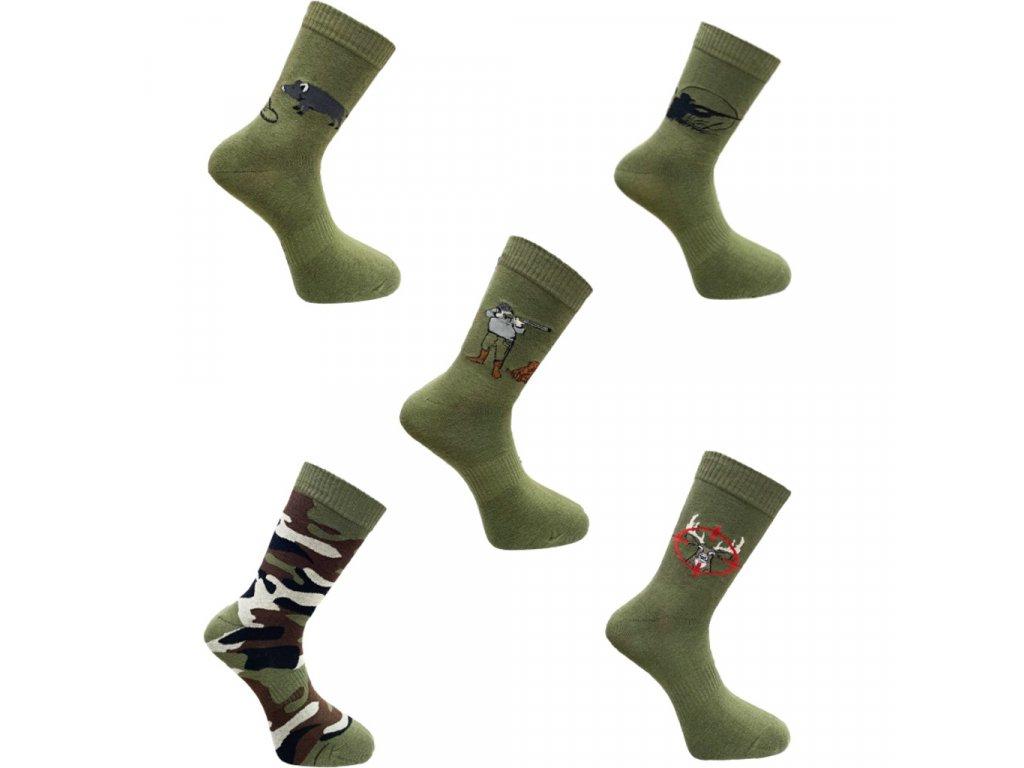 Pánské podžímní ponožky FA3758