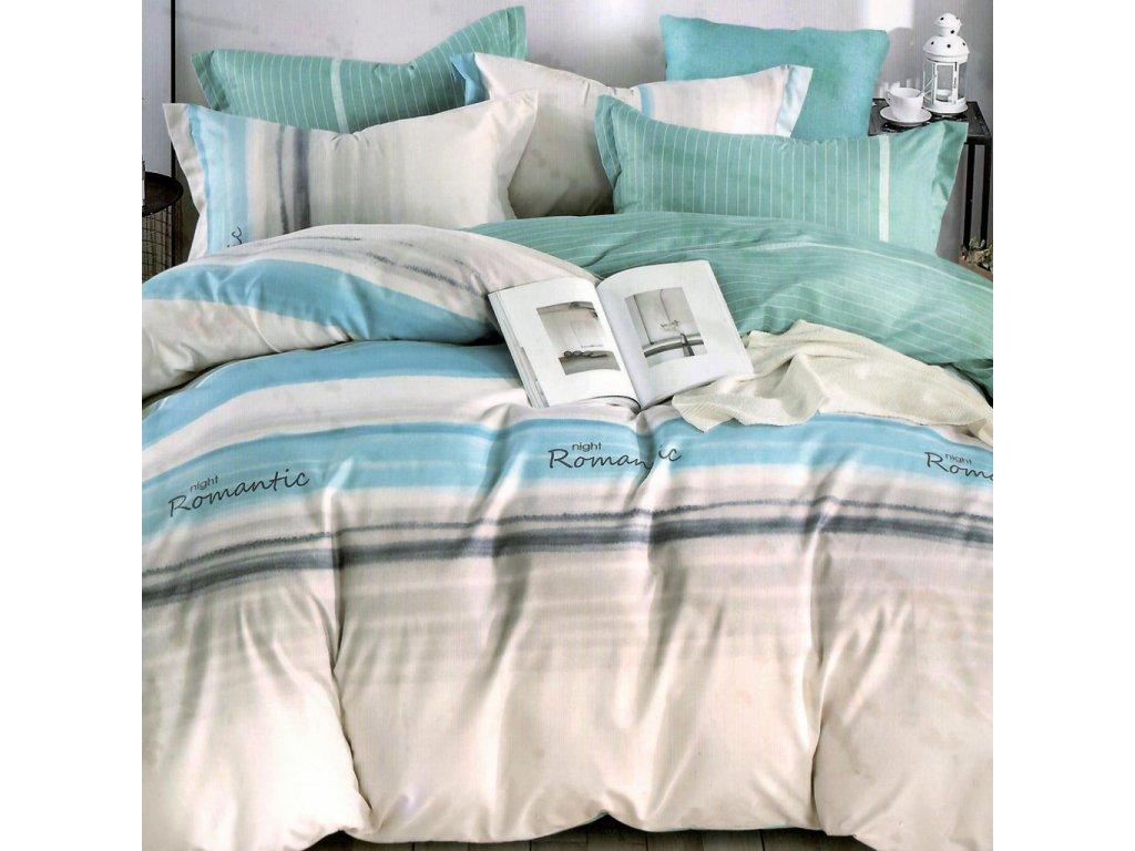 bavlnene obliecky nora 4 svetlo mora 140x200 cm vankus 70x90 cm a 40x50 cm 2003