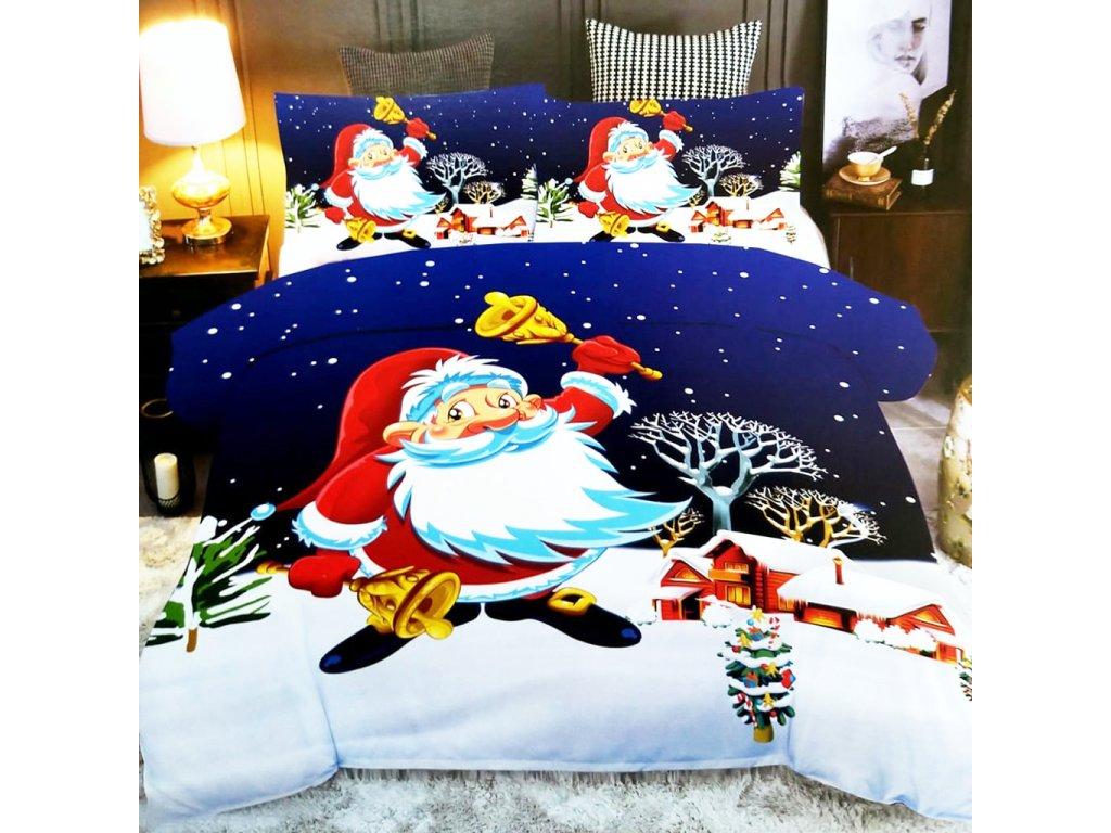 vyr 31031 bavlnene obliecky christmas 01 3 dielna suprava 140x200cm 2357