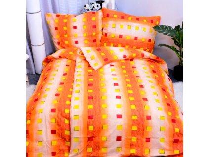 Screenshot 2021 01 19 Aaryans bavlněné povlečení Karla oranžové 140x200 70x90cm AARYANS CZ