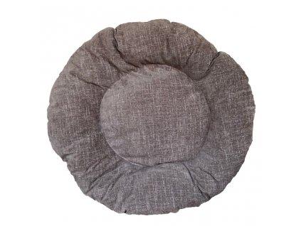 Kulatý matrace pro psa 10/120 cm - Hnědé