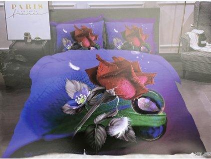 Bavlněné povlečení  - Mix květiny