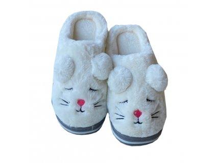 Dámské papuče jednotožec
