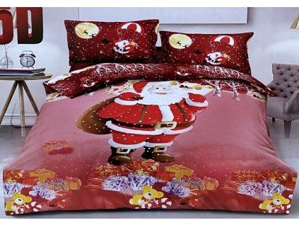 Vánoční povlečení, dvojlůžkové - Santa Claus