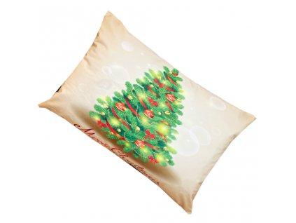 Vánoční povlak na polštrář - Vánoční strom
