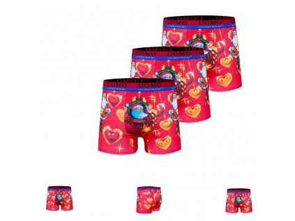 Vanoční boxerky ( 3 ks v balení )