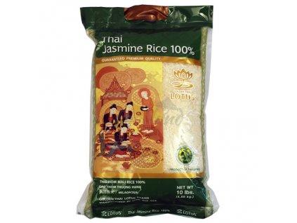 Thajská jasmínová rýžeh Golden Lotus 4,55 kg