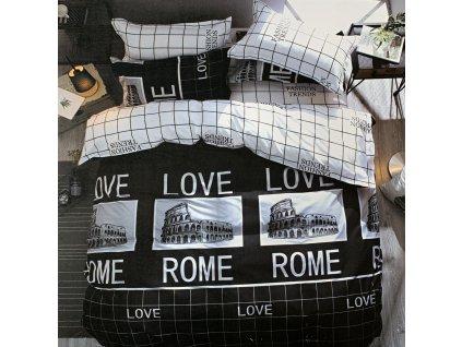 7 dílné bavlněné povlečení Europe - ROME