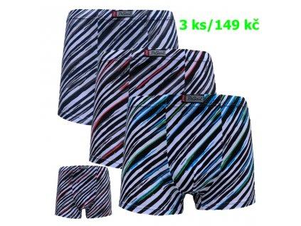 Bavlněné boxerky Pesail mix barev