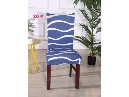 Univerzální potah na židli - Vlny